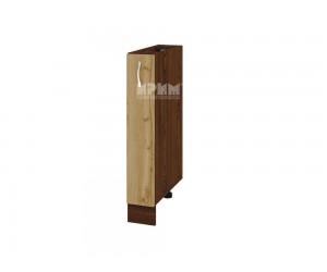 Долен кухненски шкаф бутилиера Сити ВДД-41 - 15 см.