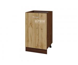 Долен шкаф Сити ВДД-43 с врата и рафт