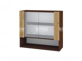Горен кухненски шкаф с витрини Сити ВДД-10 - 80 см.