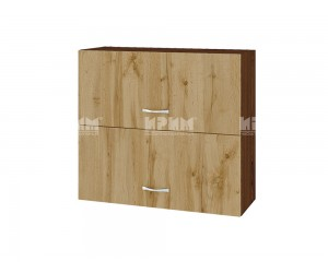 Горен шкаф Сити ВДД-12 с хоризонтални врати