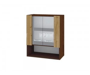 Горен кухненски шкаф с витрини Сити ВДД-9 - 60 см.