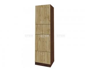 Колонен кухненски шкаф Сити ВДД - 48 за печка и микровълнова печка - 60 см.