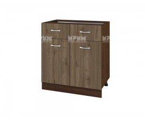 Шкаф Сити ВО-26 с две врати и чекмеджета