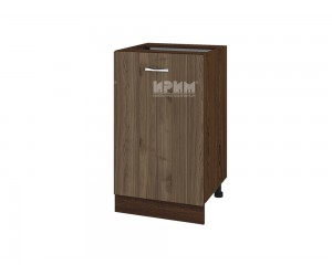 Долен шкаф Сити  ВО-43 с врата и рафт