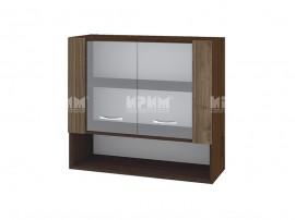 Горен кухненски шкаф с витринни Сити ВО-10 - 80 см.