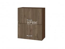Горен кухненски шкаф Сити ВО-11 с хоризонтални врати - 60 см.