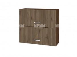 Горен кухненски шкаф Сити ВО-12 с хоризонтални врати - 80 см.