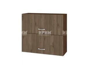 Горен шкаф Сити ВО-12 с хоризонтални врати