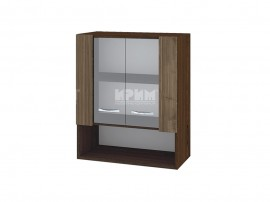 Горен кухненски шкаф с витринни Сити ВО-9 - 60 см.