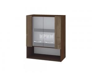 Горен шкаф Сити ВО-9 с витринни врати