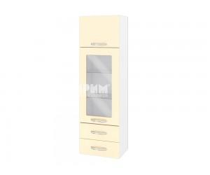 Горен шкаф за кухня Сити БФ-Бежово гланц-05-201 МДФ - 40 см.