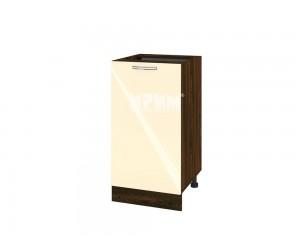 Долен шкаф за кухня Сити ВФ-Бежово гланц-05-28 с широчина 45 см.