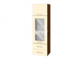 Горен шкаф за кухня Сити ВФ-Бежово гланц-05-201 с широчина 40 см.