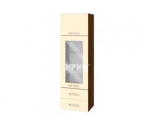 Горен шкаф за кухня Сити ВФ-Бежово гланц-05-201 МДФ - 40 см.