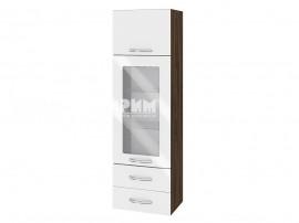 Горен шкаф за кухня Сити ВФ-Бяло гланц-05-201 МДФ - 40 см.