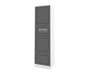 Колонен кухненски шкаф Сити БФ-Цимент мат-06-48 МДФ - 60 см.
