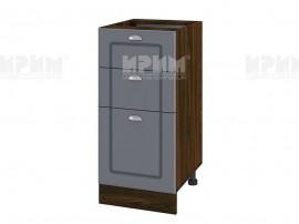 Долен шкаф за кухня Сити ВФ-Цимент мат-06-77 МДФ - 40 см. - ляв