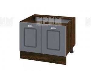 Долен кухненски шкаф за печка тип Раховец Сити ВФ-Цимент мат-06-32 МДФ - 60 см.