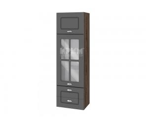 Горен шкаф за кухня Сити ВФ-Цимент мат-06-101 МДФ - 40 см.