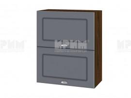 Горен шкаф за кухня Сити ВФ-Цимент мат-06-11 МДФ - 60 см.
