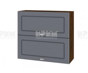 Горен шкаф за кухня Сити ВФ-Цимент мат-06-12 МДФ - 80 см.