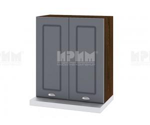 Горен кухненски шкаф за аспиратор Сити ВФ-Цимент мат-06-13 МДФ - 60 см.