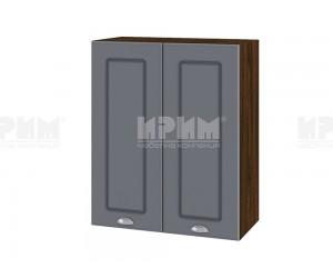 Горен шкаф за кухня Сити ВФ-Цимент мат-06-3 МДФ - 60 см.