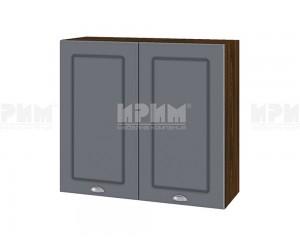 Горен шкаф за кухня Сити ВФ-Цимент мат-06-4 МДФ - 80 см.