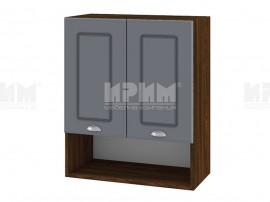 Горен шкаф за кухня Сити ВФ-Цимент мат-06-7 МДФ - 60 см.
