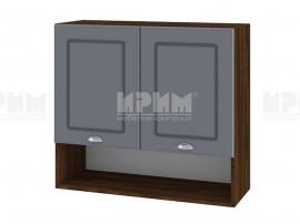 Горен шкаф за кухня Сити ВФ-Цимент мат-06-8 МДФ - 80 см.