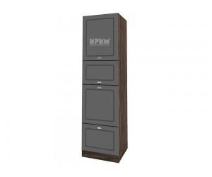 Колонен кухненски шкаф Сити ВФ-Цимент мат-06-48 МДФ - 60 см.