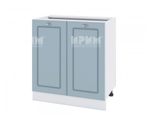 Долен шкаф за кухня Сити БФ-Деним мат-06-23 с широчина 80 см.