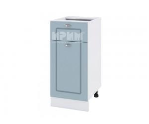 Долен шкаф за кухня Сити БФ-Деним мат-06-24 с широчина 40 см. - десен