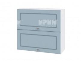 Горен шкаф за кухня Сити БФ-Деним мат-06-12 МДФ - 80 см.