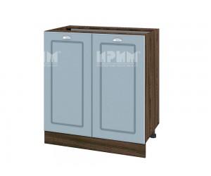 Долен шкаф за кухня Сити ВФ-Деним мат-06-23 с широчина 80 см.