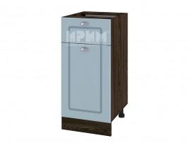 Долен шкаф за кухня Сити ВФ-Деним мат-06-24 МДФ - 40 см. - десен