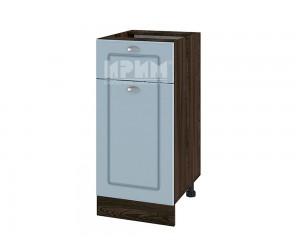 Долен шкаф за кухня Сити ВФ-Деним мат-06-24 с широчина 40 см. - десен