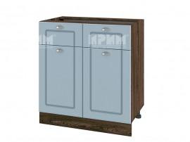 Долен шкаф за кухня Сити ВФ-Деним мат-06-26 МДФ - 80 см.