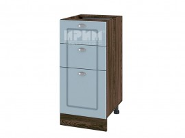 Долен шкаф за кухня Сити ВФ-Деним мат-06-27 МДФ - 40 см. - десен