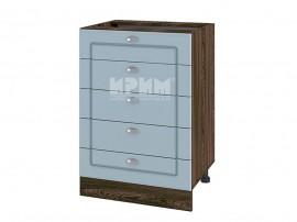 Долен шкаф за кухня Сити ВФ-Деним мат-06-29 МДФ - 60 см.