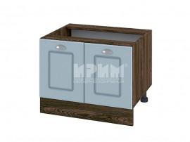 Долен кухненски шкаф за печка тип Раховец Сити ВФ-Деним мат-06-32 МДФ - 60 см.