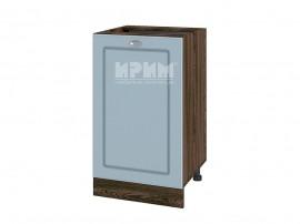 Долен шкаф за кухня Сити ВФ-Деним мат-06-43 МДФ - 50 см.