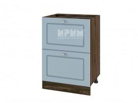 Долен шкаф за кухня Сити ВФ-Деним мат-06-44 МДФ - 60 см.