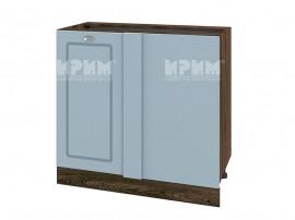 Долен кухненски шкаф за ъгъл Сити ВФ-Деним мат-06-42 МДФ - 90 см.