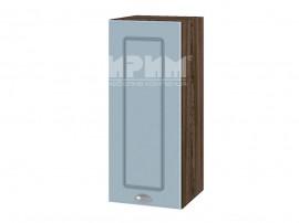 Горен шкаф за кухня Сити ВФ-Деним мат-06-1 МДФ - 30 см.