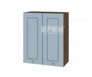 Горен шкаф за кухня Сити ВФ-Деним мат-06-3 МДФ - 60 см.
