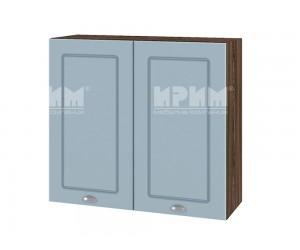 Горен шкаф за кухня Сити ВФ-Деним мат-06-4 МДФ - 80 см.