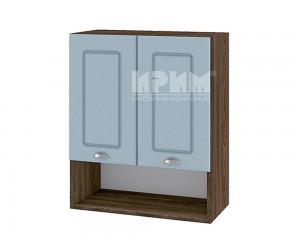 Горен шкаф за кухня Сити ВФ-Деним мат-06-7 МДФ - 60 см.