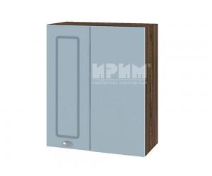 Горен кухненски шкаф за ъгъл Сити ВФ-Деним мат-06-17 МДФ - 60 см.