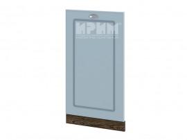 Врата за вградена съдомиялна Сити ВФ-Деним мат-06-38 с широчина 45 см.